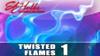 getlinkyoutube.com-Airbrushing Twisted Flames - [part - 1 of 3]