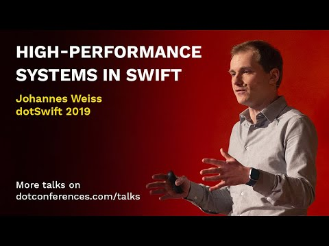 High-performance systems in Swift