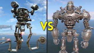 getlinkyoutube.com-Fallout 4 - Liberty Prime VS 50 Mr. Handy - Battles #9