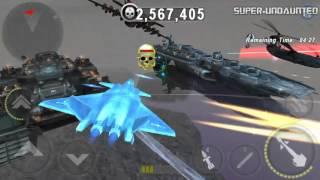 getlinkyoutube.com-[GUNSHIP BATTLE] F-16 Fighting Falcon -vs- J20 Mighty Dragon - Raid