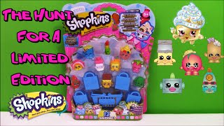 getlinkyoutube.com-SHOPKINS 12 Pack - The Hunt for Limited Edition - Surprise Egg and Toy Collector SETC