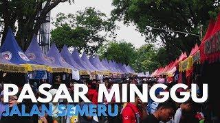 getlinkyoutube.com-Pasar Minggu Jalan Semeru - Kota Malang