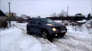 getlinkyoutube.com-Nissan Juke 1,6 Turbo в снегу