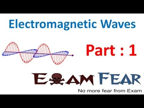 Physics Electromagnetic Waves part 1 (Introduction) CBSE class 12