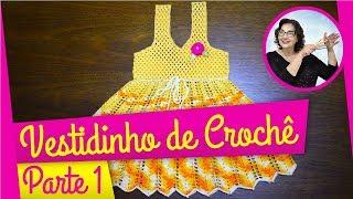 getlinkyoutube.com-VESTIDO EM CROCHE ANNE PARA O BEBÊ PASSO 1