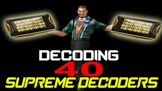 getlinkyoutube.com-CSO - 40 Supreme Decoders