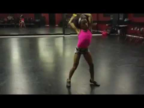 Charlize Glass - Circus - 2012 Solo (Rehearsal)