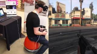 getlinkyoutube.com-GTA 5 VR - VRGO + Trinus at UnBound event