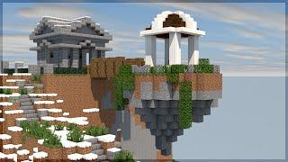 getlinkyoutube.com-Minecraft Survival #128: A Ilha Flutuante do Beacon!