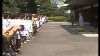 昭和天皇 勤労奉仕団に労いのお言葉。「今後とも尚、国家社会のために...」