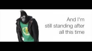 Sing - I'm Still Standing Taron Egerton LYRICS