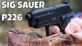 getlinkyoutube.com-REVIEW: Sig Sauer P226 Co2 Pellet Pistol - Power Accuracy