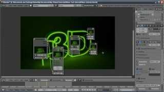 getlinkyoutube.com-Blender Tutorial: Neon Sign Text Flicker