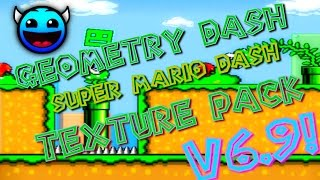 getlinkyoutube.com-Geometry Dash [1.9] - Super Mario Dash - Texture Pack Update 6.9