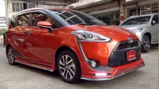REVIEW แต่งรถ TOYOTA SIENTA สีส้ม ชุดแต่ง Mz SPEED นำเข้าจากญี่ปุ่น โดย OPTIONGT