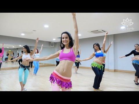 Belly dancing @ Fleur Estelle Dance School to Greek Pop (Malu)