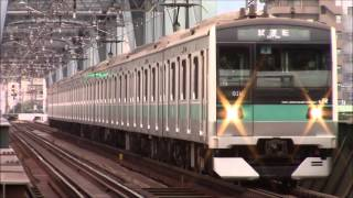 getlinkyoutube.com-E233系2000番台小田急線LCD確認試運転(マト4)厚木駅入線
