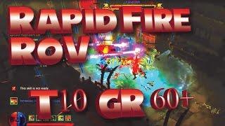 getlinkyoutube.com-Diablo RoS | 2.4 Rapid Fire Demon Hunter Build | Solo & Team