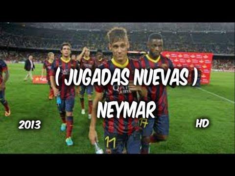 Jugadas De Neymar 2013 ( NUEVAS ) nuevas jugadas de NEYMAR ( soy de barrio ADAN ZAPATA )
