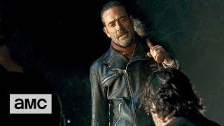 getlinkyoutube.com-The Walking Dead: 'Jeffrey Dean Morgan on Playing Negan'