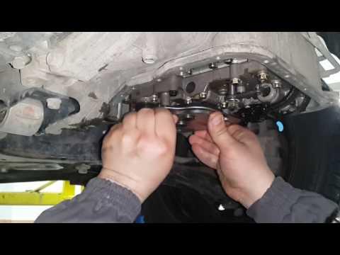 Замена масла в АКПП Hyundai Solaris (Kia Rio)