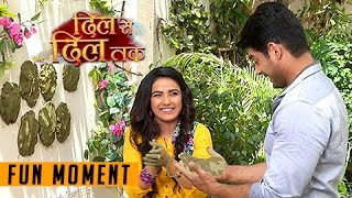 Teni And Parth Fun Moment With Gobar | Dil Se Dil Tak - 23rd March 2017 - दिल से दिल तक