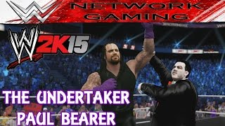 The Undertaker Paul Bearer Entrance Signature Finisher WWE 2k15 Community Creations PS4 XBOX ONE width=