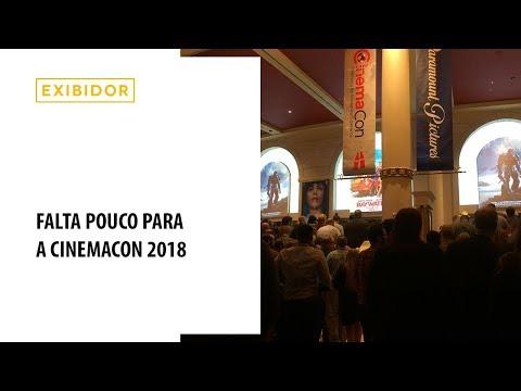 Exibidor na CinemaCon 2018
