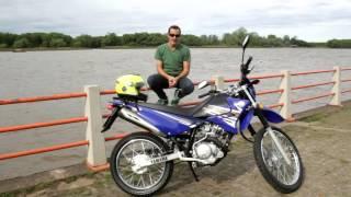 getlinkyoutube.com-Jose Luis Denari - Test - Yamaha XTZ 125
