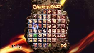 getlinkyoutube.com-Street Fighter x Tekken: All 52 Characters Unlocked (HD)