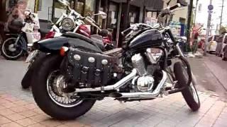 getlinkyoutube.com-Honda Steed 400 VLX ホンダ スティードVLX