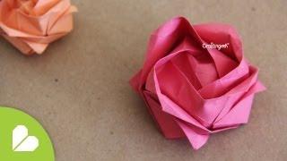 getlinkyoutube.com-Manualidad para el día de las madres: Rosa Kawasaki