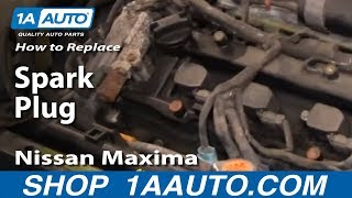 getlinkyoutube.com-How To Replace Install Change Spark Plugs 2000-03 Nissan Maxima 3.5L