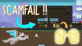 Growtopia | Scamfail The Worst Scammer In Growtopia !