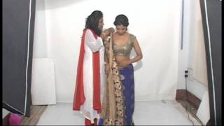 getlinkyoutube.com-MERMAID OR FISH STYLE SAREE DRAPING