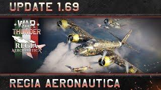 """War Thunder - Update 1.69: """"Regia Aeronautica"""""""