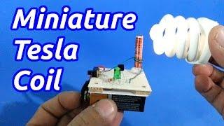 getlinkyoutube.com-Miniature Solid State Tesla Coil (Slayer Exciter)