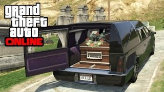 getlinkyoutube.com-GTA 5 Online - How to Open a Hearse's Back Door
