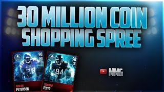 getlinkyoutube.com-30 MILLION COIN SHOPPING SPREE! Madden Mobile 17