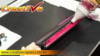 getlinkyoutube.com-Video Aula Recarga do Toner Samsung CLP320, CLP325, CLP320N, CLP325W, CLX3185