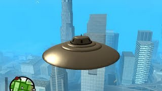 getlinkyoutube.com-GTA san andreas: how to get a ufo - (GTA san andreas ufo)
