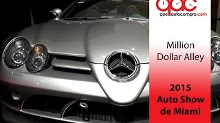 getlinkyoutube.com-Auto Show de Miami 2015: Million Dollar Alley