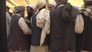 getlinkyoutube.com-Detention Facility in Parwan Province, Afghanistan Releases Detainees to a Reintegration Shura