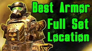 getlinkyoutube.com-Fallout 4 Best Armor : How to get FULL Marine Assault Armor Set for FREE! (Location Guide)
