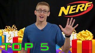 getlinkyoutube.com-Top 5 Nerf Gifts for Christmas 2016!