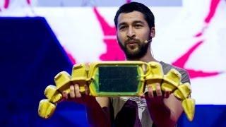 getlinkyoutube.com-Cesar Harada: A novel idea for cleaning up oil spills