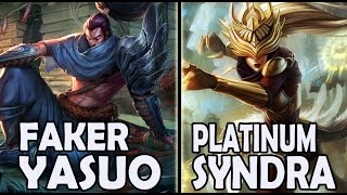 getlinkyoutube.com-FAKER plays YASUO vs A Korean PLATINUM SYNDRA