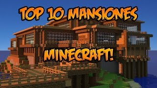 getlinkyoutube.com-TOP 10 MANSIONES MINECRAFT! - ¡IMPRESIONANTE!