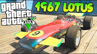 getlinkyoutube.com-GTA 5 MOD PC FORMULA 1 REAL !! 1967 LOTUS 49 COMO CORRE !!! GTA V MOD PC Makiman
