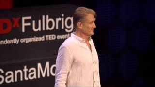 Dolph Lundgren | On healing and forgiveness | TEDxFulbrightSantaMonica width=
